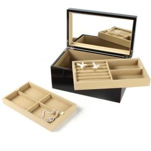 1. Gift Company Schmuckbox - Hochglanz schwarz
