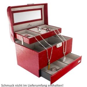 """2. Stella Maris Schmuckkoffer - handgefertigter, edler Schmuckkoffer """"Passion"""""""